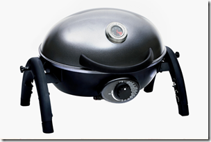 """Here's a picture of the """"Ziegler & Brown Portable Grill"""" from BBQ Galore as Consolation Prize"""