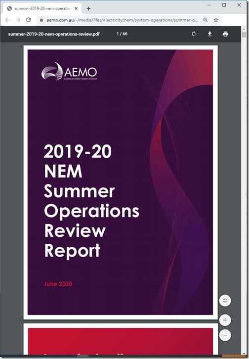2020-06-22-AEMO-Summer1920OperationsReviewReport
