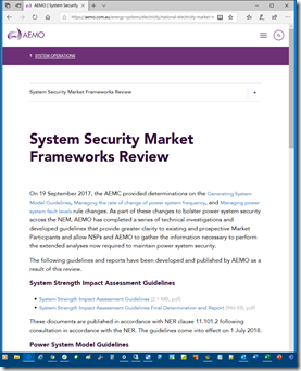2020-08-27-AEMO-SystemSecurityMarketFrameworksReview