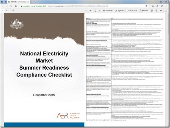 2020-12-08-AER-NEMSummerReadinessChecklist