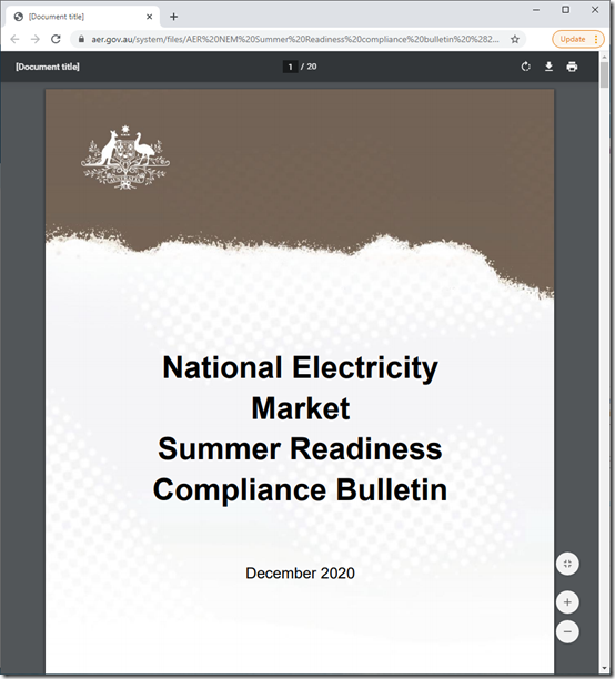 2020-12-08-AER-NEMSummerReadinessComplianceBulletin