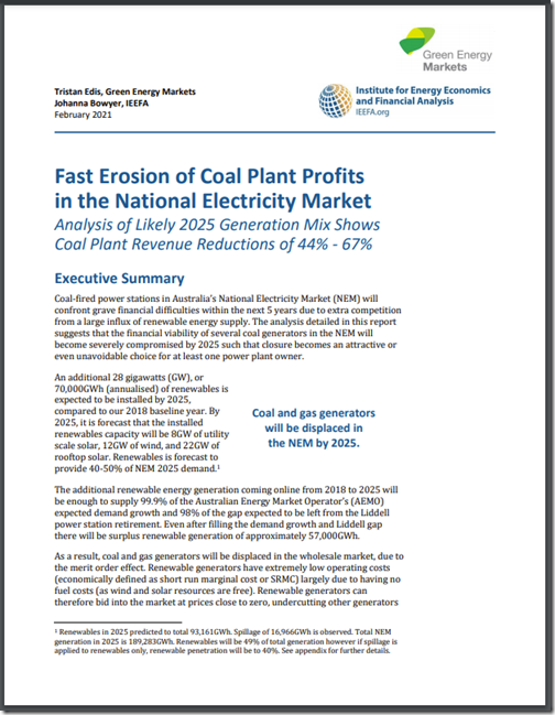 2021-02-22-GreenEnergyMarkets-IEEFA-FastErosionofCoalProfits
