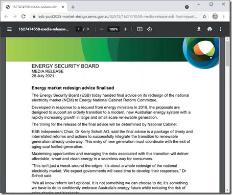 2021-07-29-ESB-EnergyMarketRedesignAdviceFinalised