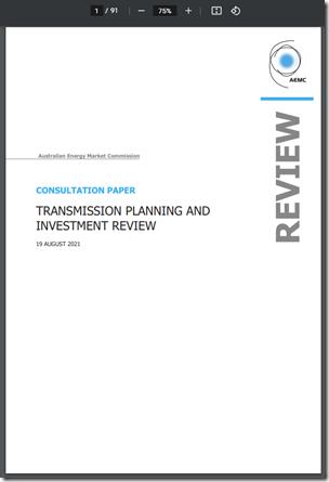 2021-08-19-AEMC-TransmissionPlanning-Consultation Paper