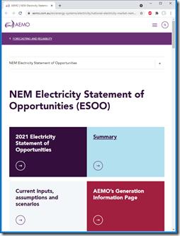 2021-08-31-AEMO-ESOO-WebPage