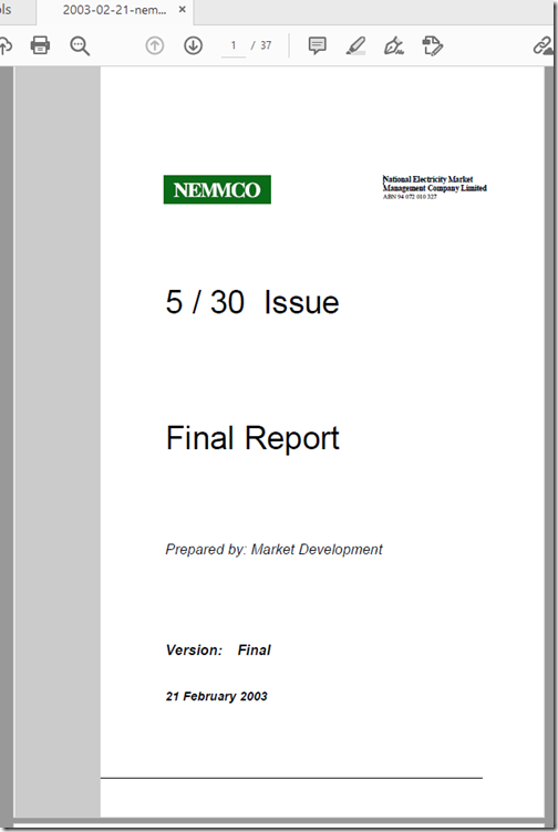 2003-02-21-5MS-NEMMCO-FinalReport-5-30-issue