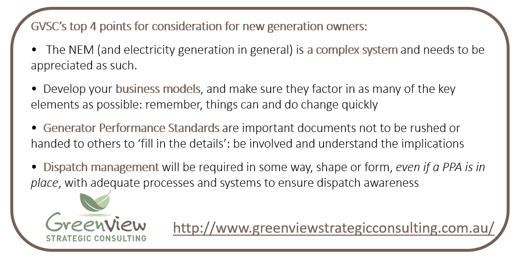 Top 4 points from Greenview Strategic Consulting