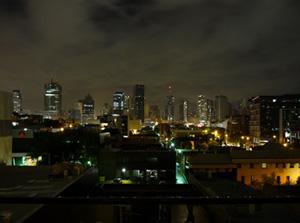 Brisbane CBD during earth hour